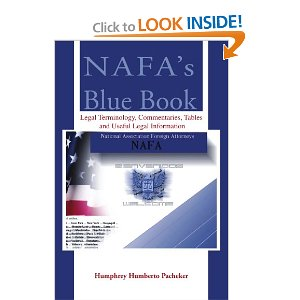 nafa blue book